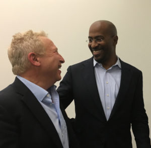Van Jones & Dan Boxser at NCF New College Florida