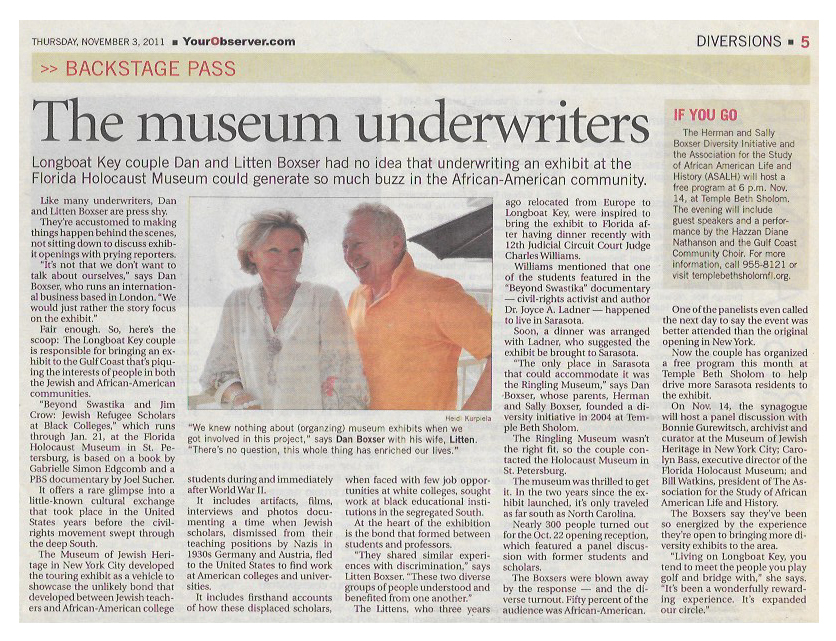 Observer article 11032011